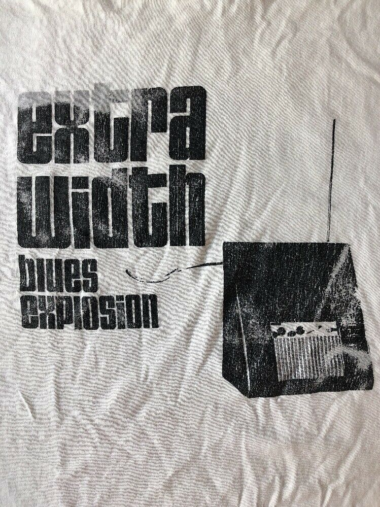 Vintage JSBX JON SPENCER blueES EXPLOSION Extra Width theremin 2 sided tee shirt