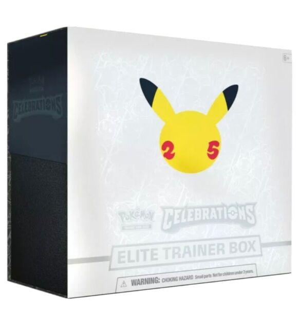 Pokemon Celebrations Elite Trainer Box 25th Anniversary - Brand New - In Stock!