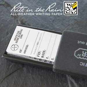 20-x-NEW-GEOLoggers-SMALL-3-0cm-Geocaching-Log-Sheet-Rite-in-the-Rain