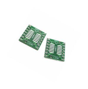 50PCS IC SOP14 SSOP14 TSSOP14 DIP 0.65//1.27//2.54mm Adapter PCB Board Converter