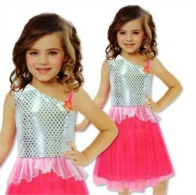 Barbie Rock N Royals Girls Dress Outfit Size 3//5 Brand New *
