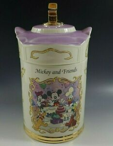 LENOX-DISNEY-ANIMATED-CLASSICS-CANISTER-COLLECTION-FLOUR-MICKEY-AND-FRIENDS-NIB