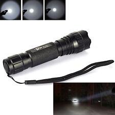 UltraFire WF-501B 2000LM Cree XM-L T6 LED 18650 Tactical Flashlight Torch Lamps