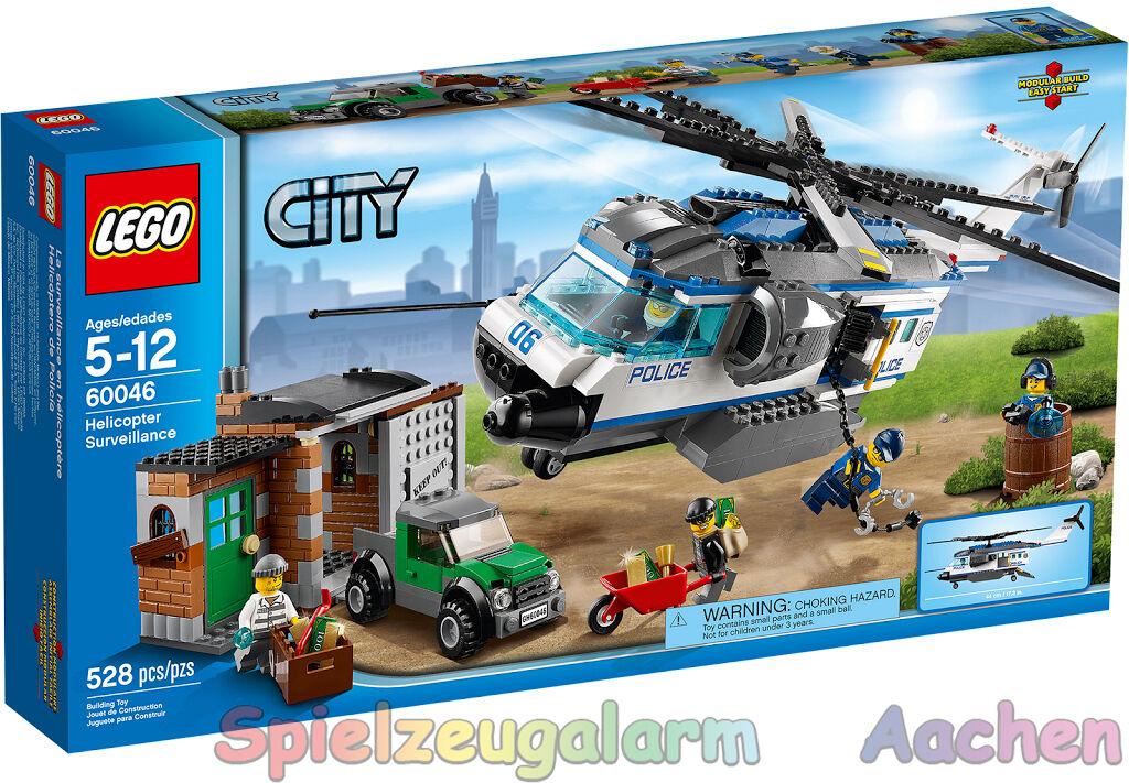 LEGO 60046 City Verfolgung mit dem Polizei Hubschrauber Helicopter Surveillance