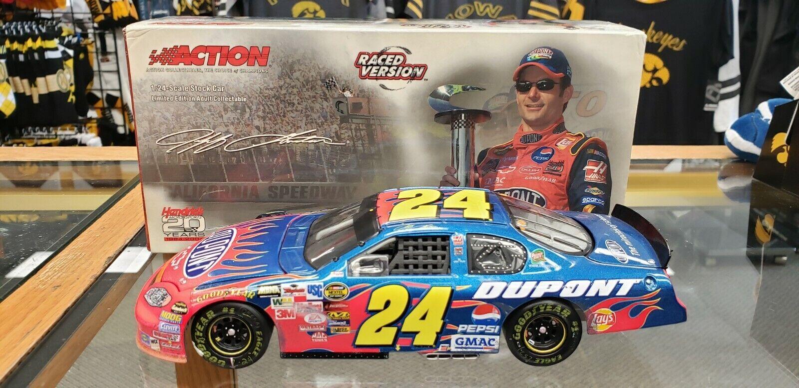 auténtico 2004 Jeff Gordon Gordon Gordon  24 Dupont-California corrió ganar versión 1 24 Diecast  la calidad primero los consumidores primero