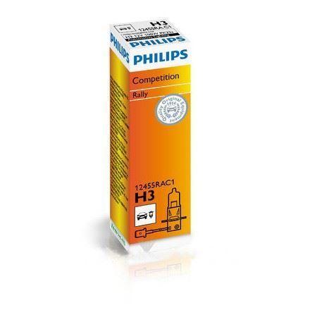 Philips Rally for off-road H3 Car Headlight Bulb 12455RAC1 Single