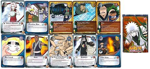 BOOSTER NARUTO 10 Cartes LINEAGE OF THE LEGENDS Neuf