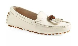 f9849f4cd3313 Image is loading NIB-Authentic-GUCCI-Bamboo-Tassel-Driving-Moccassins-size-