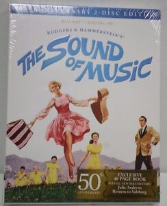 The-Sound-Of-Music-50th-Anniversary-Edition-Blu-Ray-w-Exclusive-40-page-Book-NEW