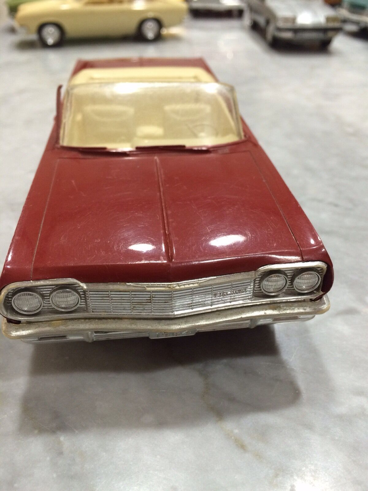 1964 Chevrolet Impala SS Promo Plastic Promotional Model Car