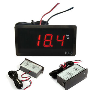 -40℃~110℃ Digital Thermometer With 2m Cable Length Temperature Detector Tester
