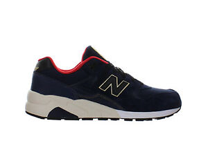 cheap for discount 3075a 34300 Details about Mens New Balance 580 Elite Limited Edition Navy Black Gold  Red White MRT580AA