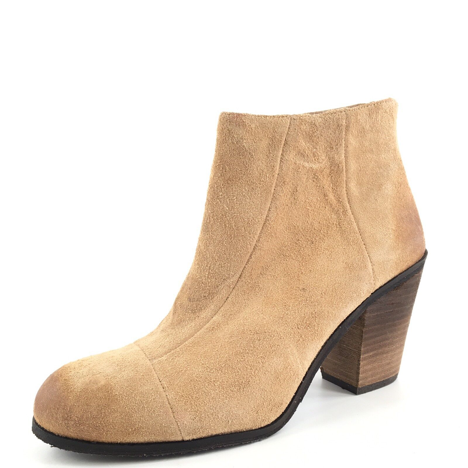 NEU Vince Camuto Graysen Bamboo Suede Ankle Booties Damenschuhe Größe 8.5 M