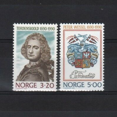 Norway Humorous Norvege Yvert N° 1003/1004 Neuf Sans Charnière With Traditional Methods Stamps