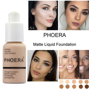 Phoera-Foundation-Makeup-Full-Coverage-Liquid-Long-Lasting-Shade-Base-Brighten