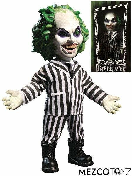 Mezco Beetlejuice Mega Scale 15 Inch Figure New