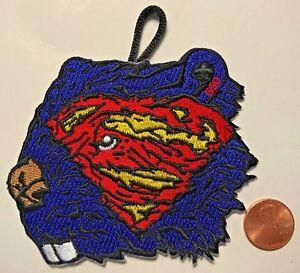 MENAWNGIHELLA-OA-LODGE-550-BSA-MOUNTAINEER-AREA-MARVEL-DC-COMICS-SUPERMAN-PATCH