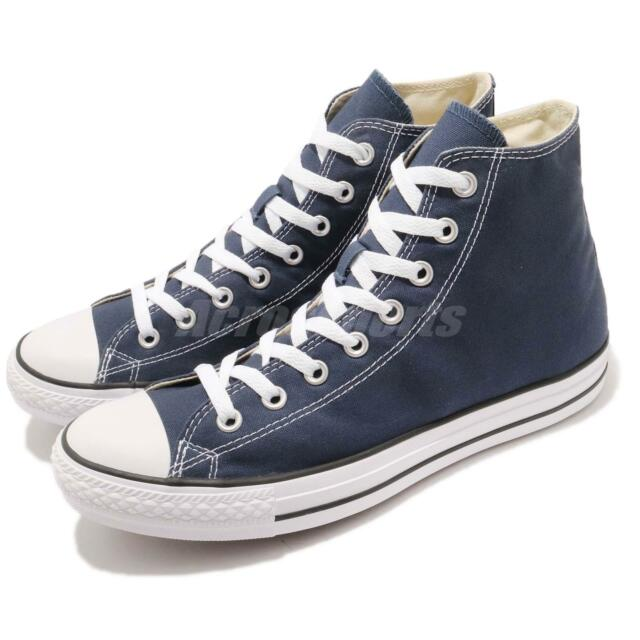 converse all star hi navy canvas