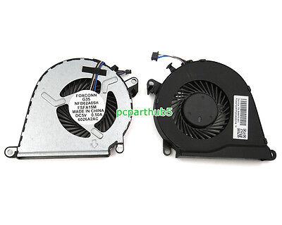 New HP OMEN 15-AX033DX 15-AX043DX 15-AX103TX 15-AX200 Series CPU Fan 858970-001