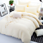 Plain-Quilt-Duvet-Cover-Pillowcases-Cotton-Bedding-Set-Single-Double-Super-King thumbnail 13