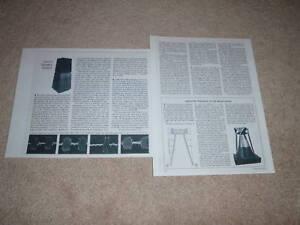 Ohm-F-Speaker-Review-1973-2-pgs-Full-Test-RARE