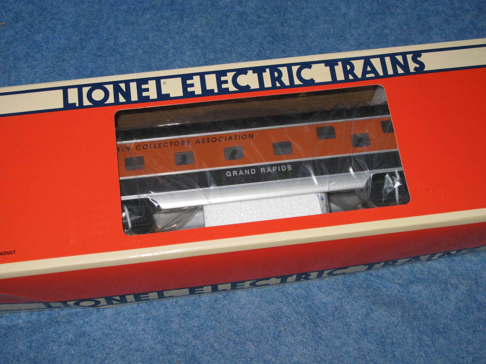 2000 Lionel 6-52191 TCA ciudad de Grand Rapids Aluminio dúplex coche L0766