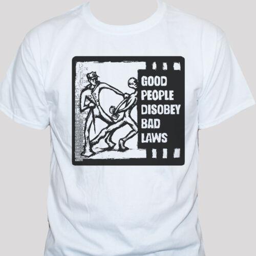 Anti Government T shirt Political Activist Protest Men/'s Women/'s Printed Top
