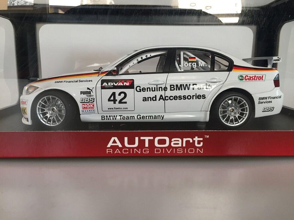 1 18 AUTOart BMW 320Si WTCC '06 GERMANY