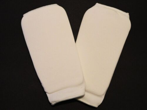 Cloth Martial Arts Sparring Shin Guards Pads Size Adult Large