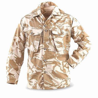 Genuine UK surplus British military desert DPM camouflage uniform shirt L Reg