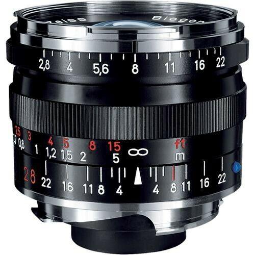 New Carl Zeiss Biogon T* 28mm F2.8 ZM Wide Angle Lens Black Leica M M9 M8.2