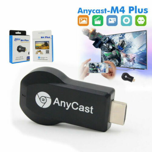 AnyCast M4 Plus Dongle Receiver WiFi Display HDMI TV 1080P