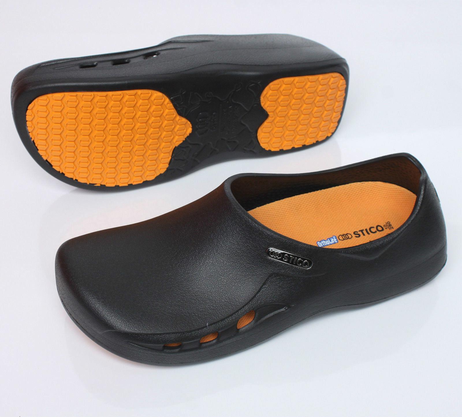 Mens Non-Slip Chef Kitchen Shoes Non-Slip Mens Ventilation Anti-Slip Efficient BLACK abb6eb