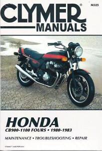 1980 1983 honda cb900 cb1000 cb1100 service repair workshop manual