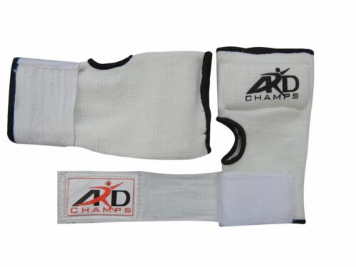 ARD™ FOAM PADDED INNER GLOVES WITH WRAPS MUAY THAI BOXING MARTIAL ARTS S-XL