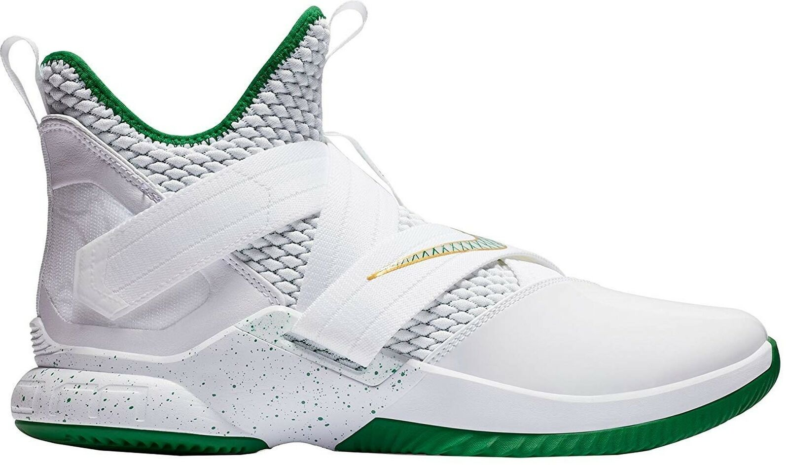 Nike Lebron Soldier XII Mens Ao2609-100 Size 11.5 White Multi-color