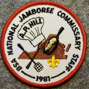 1981-National-Jamboree-Commissary-Staff-A-P-Hill-Boy-Scouts-of-America-BSA