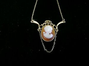 Sarah Coventry 1960s Vintage Cameo Neclace