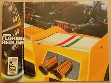 Ferrari Club of America florida Redline 2006/1 región Newsletter Book brochure