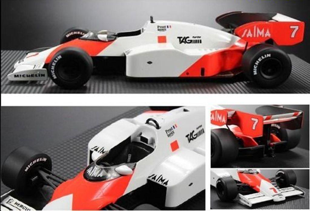 GP réplicas GPR 005B McLaren MP42 F1 Coche Modelo Modelo Modelo Raza Alain Prost Nº 7 1:18th d600f1