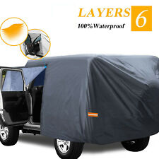 6 Layers Car Cover For 2007 2021 Jeep Wrangler Cjyjtj Amp Jk 4 Door With Zipper Fits Jeep