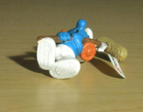 Smurfs 20712 Soundman Smurf Boom Mic Operator Vintage Film Movie Figure PVC Toy