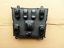 MERCEDES W163 ML POWER WINDOW SWITCH CONSOLE 1638206610