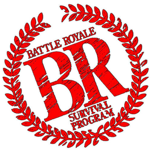 - Adult sizes S thru 5X A31 Battle Royale Logo Custom Movie T-Shirt -
