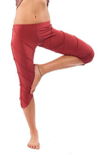 Yoga Pixie Leggings Goa Festival Psy Trance Clothing Organic Cotton Leggings