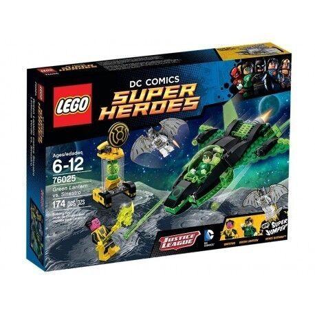 Lego 76025 - Linterna vert vs. Sinestro - NUEVO