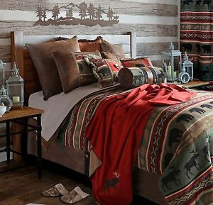 Backwoods Bedding Collections Cabin Rustic Free