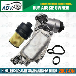 Oil-Cooler-Assembly-for-Holden-Cruze-JG-JH-F18D-1-8L-Astra-AH-Barina-TM-Trax