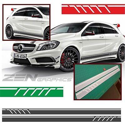 Mercedes A45 A-klasse W176 Amg Linie A160 Seiten Streifen Aufkleber Sticker