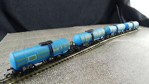 Lima-Spur-N-Konvolut-4x-Kesselwagen-Milk-L31-Gebraucht-Guter-Zustand